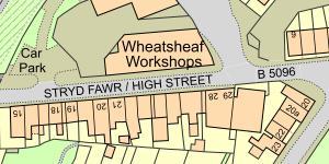 Map Cefn Mawr
