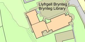 Map of Brynteg Library