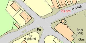 Map Gresffordd
