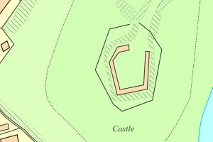 Map of Location of Holt Castle, Holt